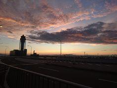 Kansai Airport, Osaka, Japan, Celestial, Sunset, Outdoor, Outdoors, Sunsets, Outdoor Games