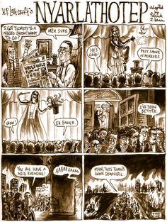 Underwhelming Lovecraft Monsters