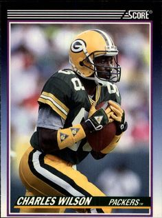WR/KR Charles Wilson -- Green Bay Packers // 1990 Score