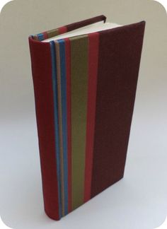 Fabric covered handmade book by BookbindingWorkshop on Etsy, €20.00