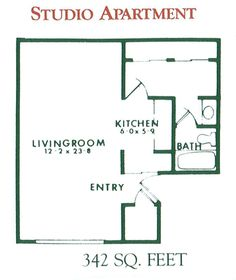 Floor Plans For Studio Apartments studio apartment floor plans - bing images | inspiration