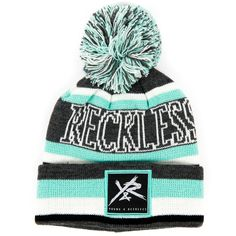 2065153f56f Young and Reckless BLOCK STRIPE Cute Hats