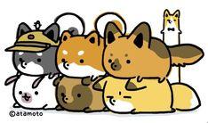 Cute Doodle Art, Cute Doodles, Dog Pin, Shiba Inu, Pikachu, Corgi, Cute Animals, Kawaii, Cartoon