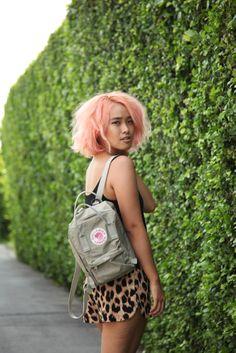 I love my Fjallraven Kanken Mini backpack!! <3