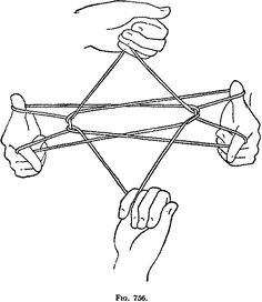 Cats cradle.......play by yourself or with others