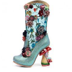 Irregular Choice 'Angelica Pearson', Faerie heel, glitter boo