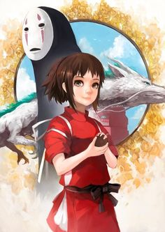 Spireted Aaway by Gilang Andrian - not into anime all that much, but I liked this movie