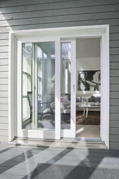 Tiivi tuo liukuoviin ja ikkunoihin helppohoitoisen rakenteen ja kippituuletuksen