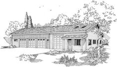Traditional Style House Plans Plan: 17-717