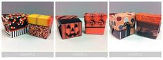 Print & Cut Halloween Take Out Box- no fancy craft cutting machine needed, 3 sets to choose from... FREE #printable #halloween #template