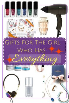 The Ultimate Gift Guide for the Girl Who Has Everything - DIY Gifts Simple Ideen Trending Christmas Gifts, Christmas Gifts For Women, Gifts For Teens, Gifts For Friends, Unique Graduation Gifts, The Ultimate Gift, Easy Diy Gifts, Quirky Gifts, Birthday Woman