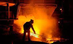 blast furnace operator Steel Manufacturers, Steel Companies, Metallica, Tata Steel, British Steel, Steel Mill, Industrial Photography, Iron Steel, Visual Communication