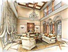VillaLazio | David Desmond Interior Design