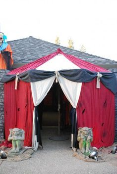 halloween carnival decorations - Google Search