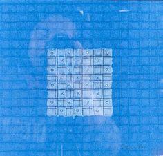 Agnes Martin - Abstract; Medium: Mixed media; Dimensions: 21.59 X 22.86 cm.