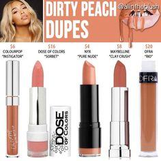 Peach Lips | Best Peach Dupes