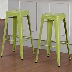 Lime Green Bar Stools - Foter