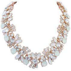 Fashion Statement Necklace (5,100 KRW) via Polyvore
