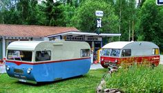 These are the only 2 SAAB RV's ever built. Could be a little tough to changing those tires.