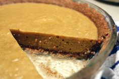 Pumpkin Chiffon Pie (Omit the maple syrup and heavy whipping cream) #21DSD