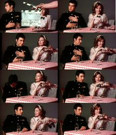 AL Pacino & Diane Keaton doing a screen-test for the godfather