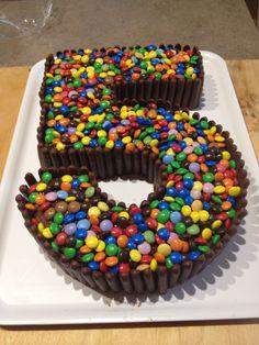 Torta Smarties E Togo Con Crema Alla Nutella Ricetta