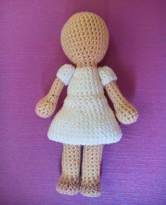"Weaving Max: ""Mini Me"" confectioners. Crochet Fairy, Crochet Girls, Love Crochet, Octopus Crochet Pattern, Crochet Amigurumi Free Patterns, Crochet Toys, Crochet Doll Clothes, Crochet Videos, Amigurumi Doll"