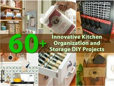 60+ Innovative Kitchen Organization and Storage DIY Projects - Page 5 of 6 -... This.