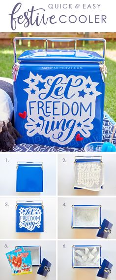 DIY Festive Fourth o
