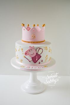 A gallery of fondant and gum paste cakes from a collection of cake decorators who have created unique and fun birthday parties for girls around the world.