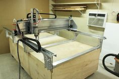 The Fabricator Pro -  Aluminum CNC from BuildYourCNC