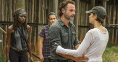 Resistance is not futile on 'The Walking Dead.' When the zombie drama returns for the second half of season 7 next week, Rick Grimes (Andrew Lincoln) and the denizens of Alexandria are determined to fight back against Negan and the Saviours.   'We're re
