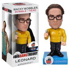 Star Trek Live Long And... Bazinga - Leonard Star Trek Bobblehead