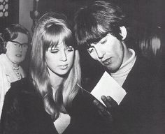 Patti and George