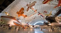 The Air and Space exhibits at The Smithsonian Institution