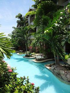 I am not a resort girl but....Swim out suites at Sandals Royal Caribbean, Montego Bay