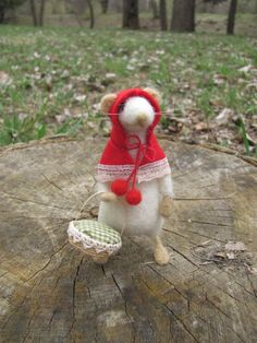Little RAT Riding hood by HandmadeByNovember on Etsy, $40.00