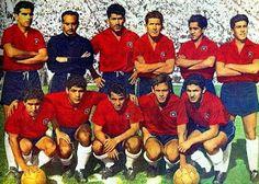 EQUIPOS DE FÚTBOL: SELECCIÓN DE CHILE 1961-62
