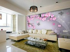 Living Room Murals top 10 cities inspired murals for living room | interior exterior