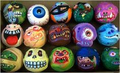 Madballs - These were so cool to collect, too. My very first one was the eyeball.