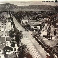 Old Salt Lake City Old Images, Old Pictures, Vintage Pictures, Salt Lake City Utah, Heaven On Earth, Abandoned Places, City Photo, Beautiful Places, Scenery