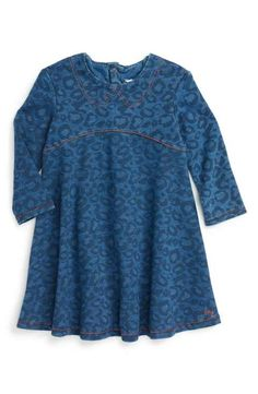 LITTLE MARC JACOBS Leopard Print Dress (Baby Girls)