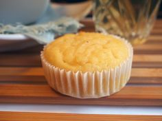Lemon, ricotta and almond meal muffins