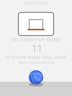 I scored 11 points in #ketchappbasketball ! Can you beat my score? https://itunes.apple.com/app/ketchapp-basketball/id1111665247