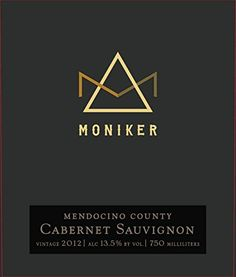 2012 Moniker Estates Mendocino County Cabernet Sauvignon 750 ml Wine ** Find out more about the great product at the image link.