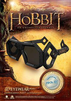 """The Hobbit"" 3D glasses"