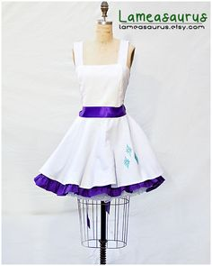 "My Little Pony Friendship is Magic ""Rarity Retro Style Dress with Cutie Mark"" by Lameasaurus on Etsy. Want!!!! #rarity #cutiemark"