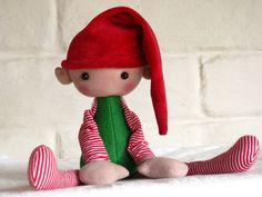 Tid-Bit the Sitting Elf PDF Sewing Pattern by NimblePhish on Etsy