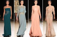 El diseñador libanés presentó en París su colección de 'Haute Couture' para otoño-invierno 2012-2013