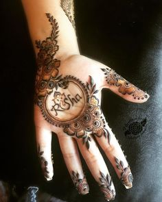 Bridal and Mehndi Design latest 2019 - Brain Hack Quotes Henna Art Designs, Mehndi Designs For Girls, Mehndi Designs For Beginners, Stylish Mehndi Designs, Dulhan Mehndi Designs, Wedding Mehndi Designs, Mehndi Design Pictures, Latest Mehndi Designs, Mehndi Designs For Hands